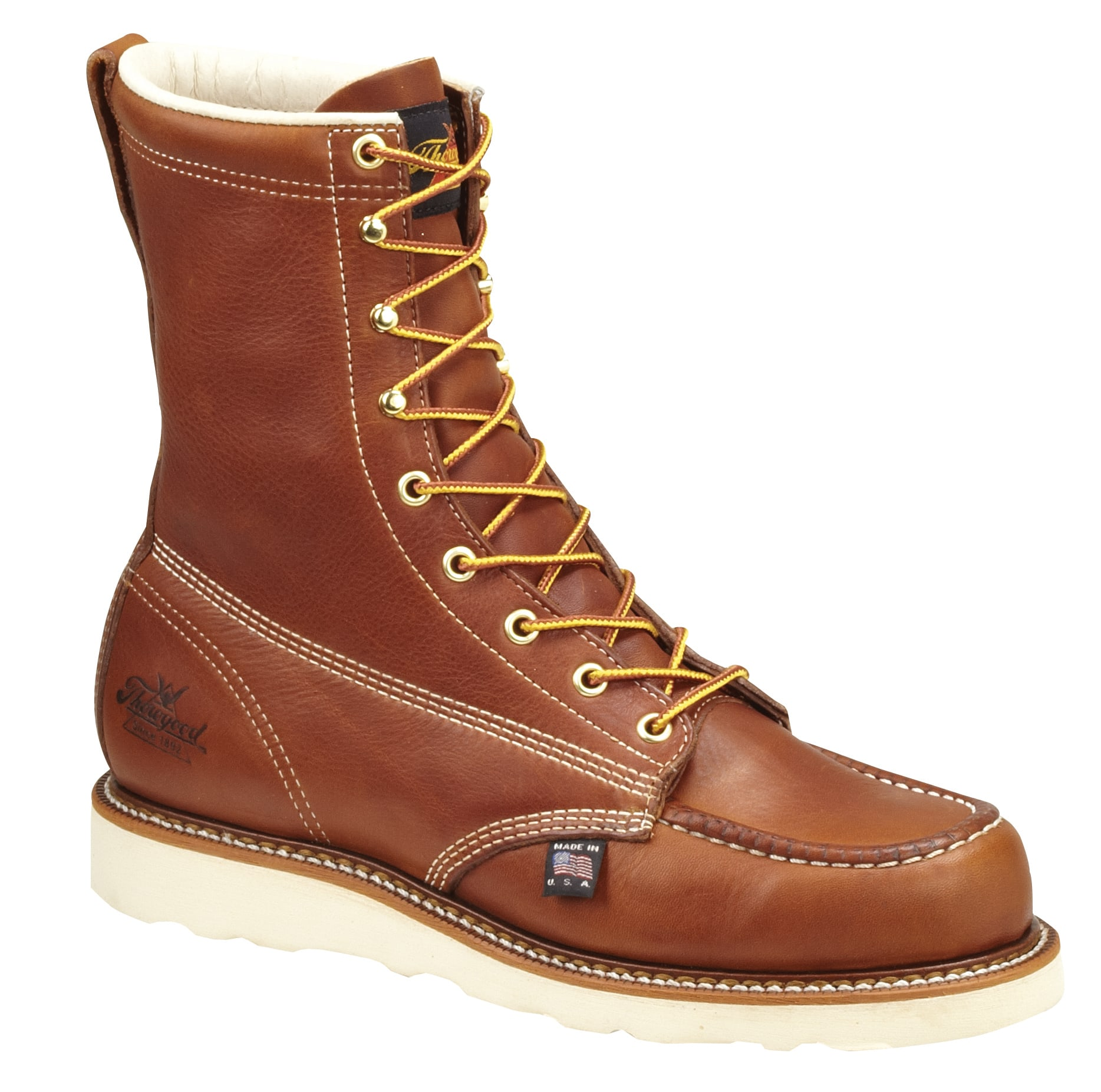 "Thorogood Men's American Heritage 8"" Wedge Sole Moc Steel Toe thorogood,thorogood mens,thorogood mens boots,thorogood mens work boots,thorogood steel toe,thorogood steel toe boots,brown thorogood steel toe boots,804-4208,804-4208 boots,804-4208 thorogood,steel toe work boots,steel toe boots,brown steel toe boots,steel toe thorogood,lace up steel toe,slip resistant work boots,oil resistant boots,oil resistant work boots,slip resistant boots,slip resistant thorogood boots,safety toe work boots,safety toe boots,safety toe thorogood boots,brown safety toe work boots,brown safety toe,thorogood american heritage,american heritage boots,wedge sole moc toe safety boots,wedge sole steel toe boots,moc toe safety boots,comfortable safety toe boots,usa made boots,usa made safety toe boots,usa made steel toe"