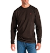 Ariat Flame Retardant Coffee Bean Work Crew Shirt