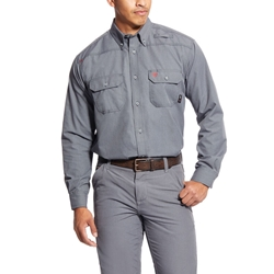 Ariat FR Gunmetal Featherlight Work Shirt
