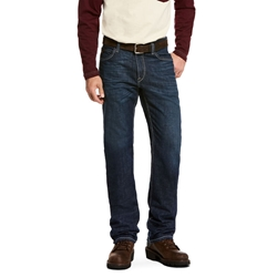 Ariat FR M4 Platinum Low Rise Durastretch Lineup Straight Leg Jean