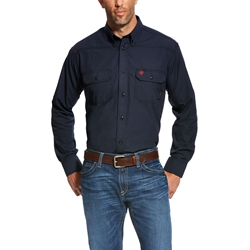 Ariat FR Navy Featherlight Work Shirt