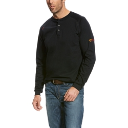Ariat Flame Resistant Black Henley
