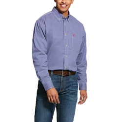 Ariat Flame Resistant Cobalt Liberty Work Shirt