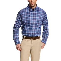 Ariat Flame Resistant True Blue Collins Work Shirt