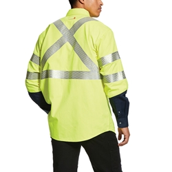 Ariat Flame Resistant Hi-Vis Yellow Work Shirt