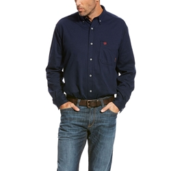 Ariat Flame Resistant Navy AC Work Shirt