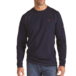 Ariat Flame Resistant Navy Work T-Shirt