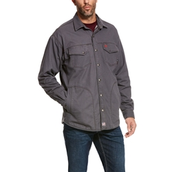 Ariat Flame Resistant Rig Shirt Jacket | Iron Grey