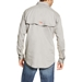 Ariat Flame Resistant Silver Fox Solid Vent Work Shirt - 10019063