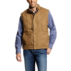 Ariat Flame Resistant Workhorse Insulated Vest | Field Khaki