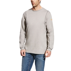 Ariat Men's Flame Resistant Silver Fox AC Crew T-Shirt