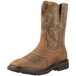 Ariat Sierra Square Steel Toe Work Boots
