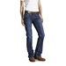 Ariat Women's Flame Resistant Blue Quartz Mid Rise Boot Cut Denim Jeans - 10016176