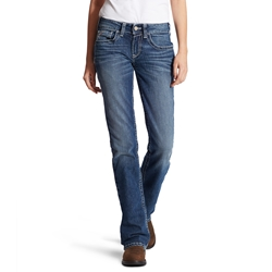 Ariat Womens Flame Resistant Oceanside Entwined Boot Cut Jean