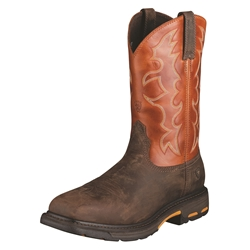 Ariat Workhog Square Steel Safety Toe Boots