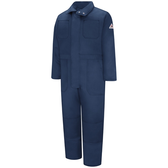 Bulwark Men's Deluxe Insulated Coverall - Navy
