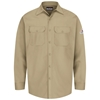 Bulwark Flame Resistant Button-Front Work Shirt