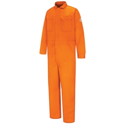 Bulwark FR Deluxe 100% Cotton Contractor Coverall | Orange