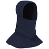 Bulwark Fire Retardant Navy Knit Balaclava with Face Mask
