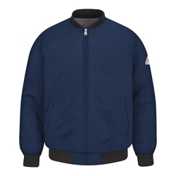 Bulwark Mens Navy FR Team Jacket