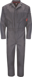 Bulwark Flame Resistant IQ Endurance Premium Coverall | Gray