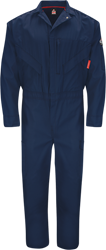 Bulwark Flame Resistant IQ Endurance Premium Coverall | Navy