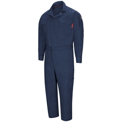 Bulwark Flame Resistant IQ Mobility Coverall | Navy