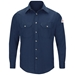 Bulwark Flame Resistant 5.8 oz Uniform Shirt | Navy - SMU4NV