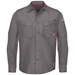 Bulwark Flame Resistant IQ Series Endurance Work Shirt | Grey - QS40GY