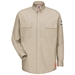 Bulwark iQ Series Flame Retardant Long Sleeve Patch Pocket Shirt
