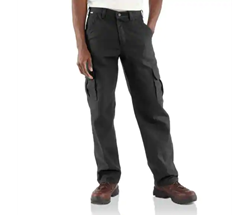 Carhartt FR Canvas Cargo Pant | Black