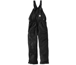 Carhartt FR Duck Bib Overall - Unlined | Black