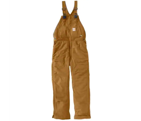 Carhartt FR Duck Bib Overall - Unlined | Carhartt Brown