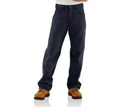 Carhartt FR Midweight Canvas Pant - Loose Fit | Dark Navy