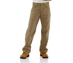 Carhartt FR Midweight Canvas Pant - Loose Fit | Golden Khaki
