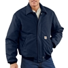 Carhartt Flame Retardant Navy Duck Bomber Jacket