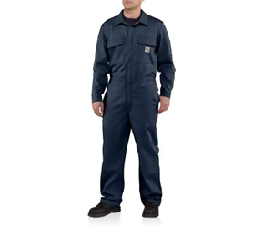 Carhartt FR Traditional Twill Coveralls | Dark Navy