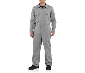 Carhartt FR Traditional Twill Coveralls | Gray
