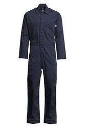Lapco 7 Ounce FR Navy Economy Cotton Coverall