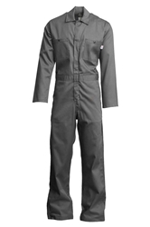Lapco 7oz Flame Resistant Gray Economy Coverall