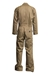 Lapco 7oz Flame Resistant Khaki Deluxe Coverall - CVFRD7KH