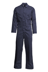 Lapco 7oz Flame Resistant Navy Deluxe  Coverall