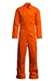 Lapco 7oz Flame Resistant Orange Deluxe  Coverall - CVFRD7OR