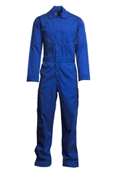 Lapco 7oz Flame Resistant Royal Deluxe Coverall