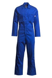 Lapco 7oz Flame Resistant Royal Economy Coverall