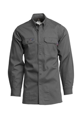 Lapco FR 7 oz. Gray Uniform Shirt