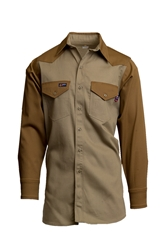 Lapco FR Two-Tone Western Shirt
