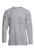 Lapco Flame Resistant 6oz Grey Pocket T-Shirt - FRT-USHLS6GY