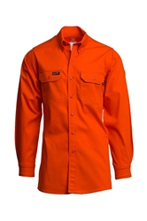 Lapco Flame Resistant 7 oz. Orange Uniform Shirt