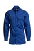 Lapco Flame Resistant 7 oz. Royal Blue Uniform Shirt  - IRO7